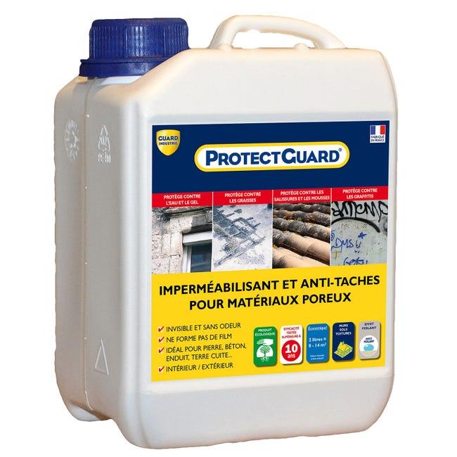 Impermeabilisant Facade Et Sol Exterieur Protectguard 2l Incolore Leroy Merlin