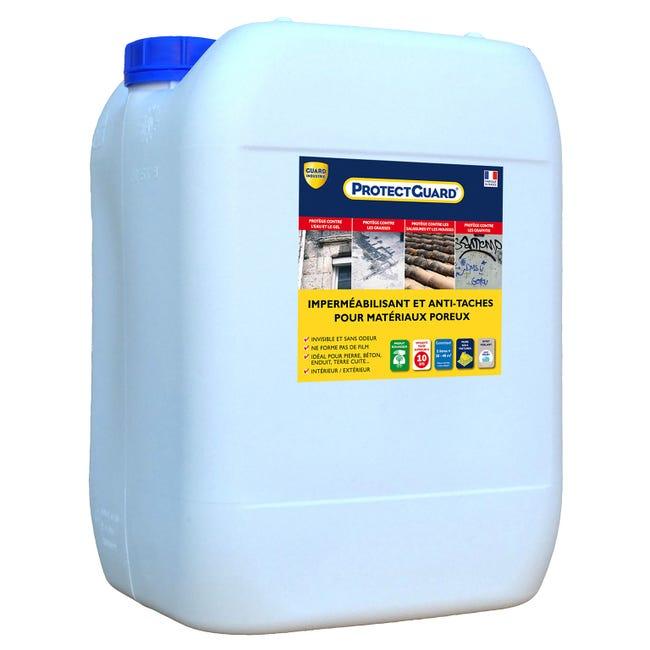 Impermeabilisant Facade Et Sol Exterieur Protectguard 20l Incolore Leroy Merlin