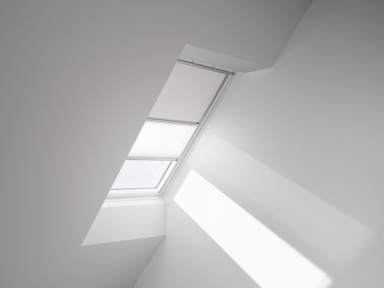 store fenêtre de toit velux duo occultant plissé manuel