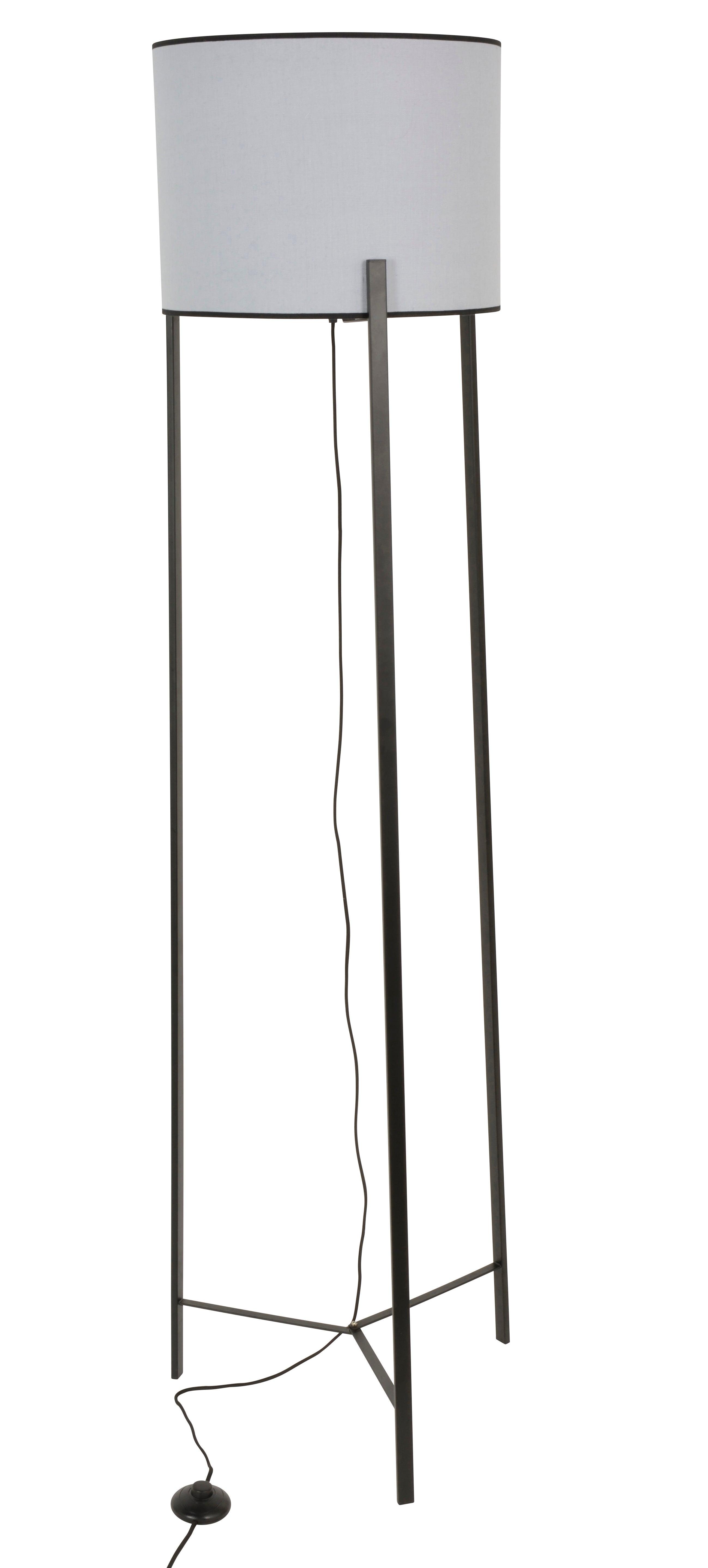 Lampadaire trépied métal JOSHUA | Leroy Merlin