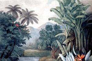 Image : Toile à suspendre Vegetation, multicolore ARTIS l.65 x H.97 cm