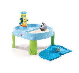 Table sable et eau plastique  splash & scoop bay STEP 2, L.72 x l.79 cm