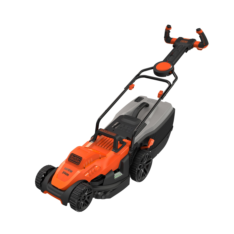 Tondeuse électrique Black Decker Bemw461es 1400 W L34 Cm