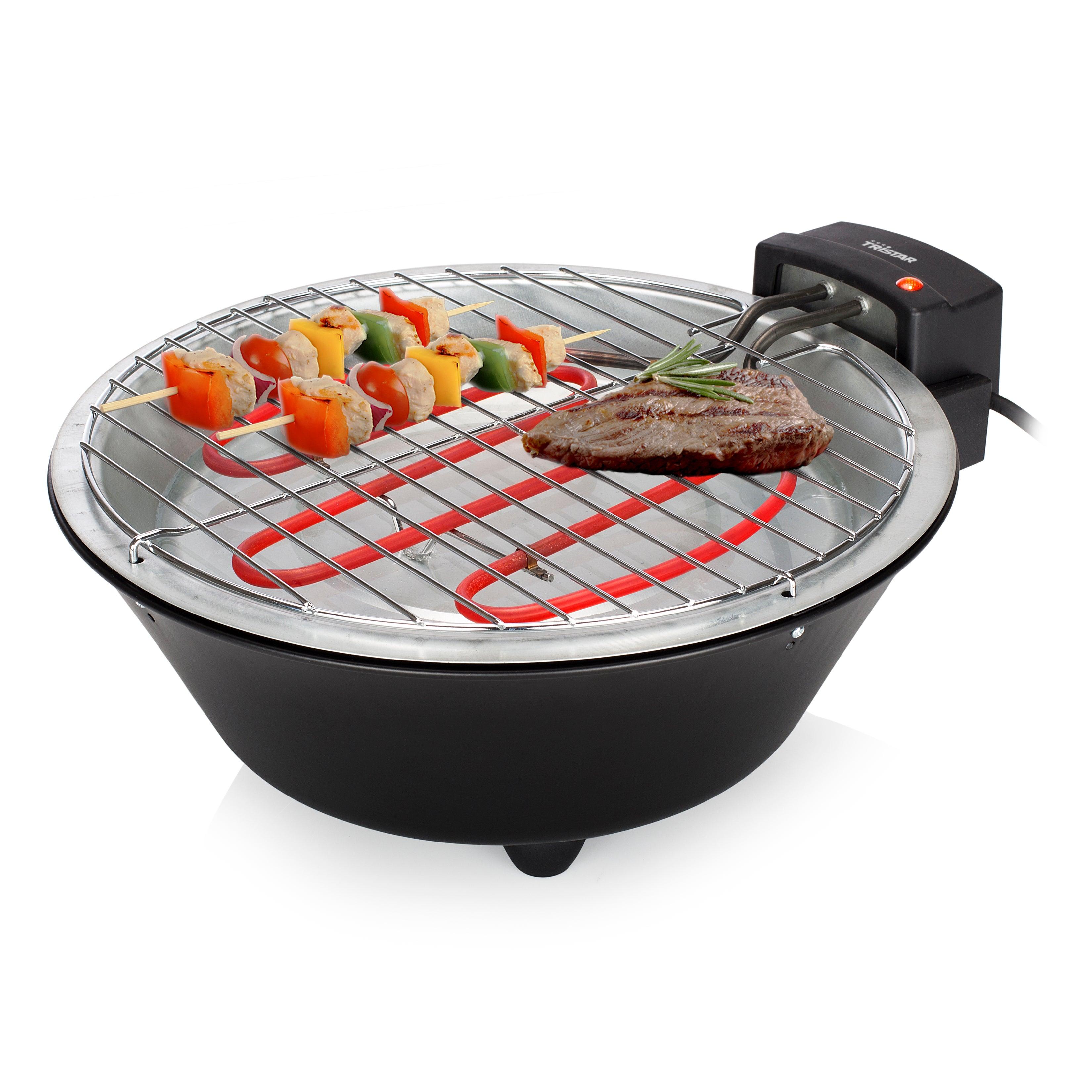 Barbecue électrique TRISTAR Modèle de table 30 cm 1250w