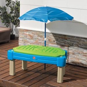 Table sable et eau plastique Cascading cove STEP 2, L.61 x l.108 cm