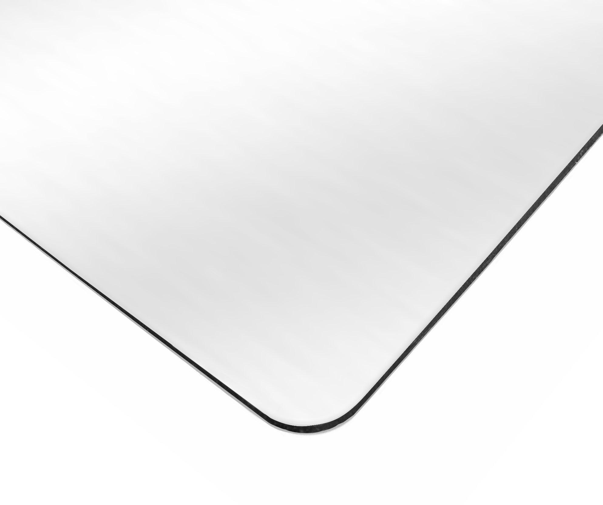 Plaque Composite Aluminium 3 Mm Blanc Lisse L 200 X 100 Cm Leroy Merlin