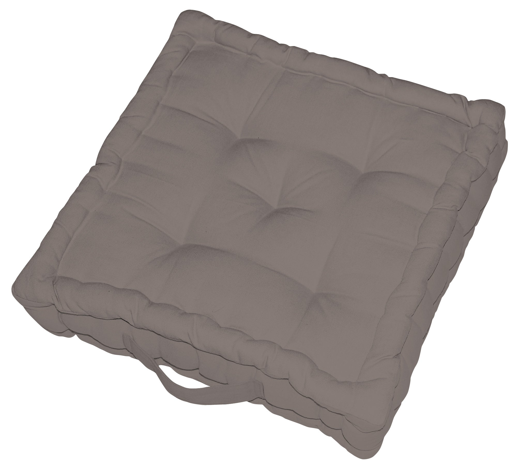 Coussin de sol Newelema INSPIRE, taupe l.