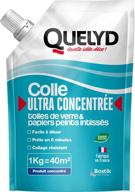 Colle Toile De Verre Et Papier Peint Intisse Ultra Concentree Quelyd 1 Kg Leroy Merlin