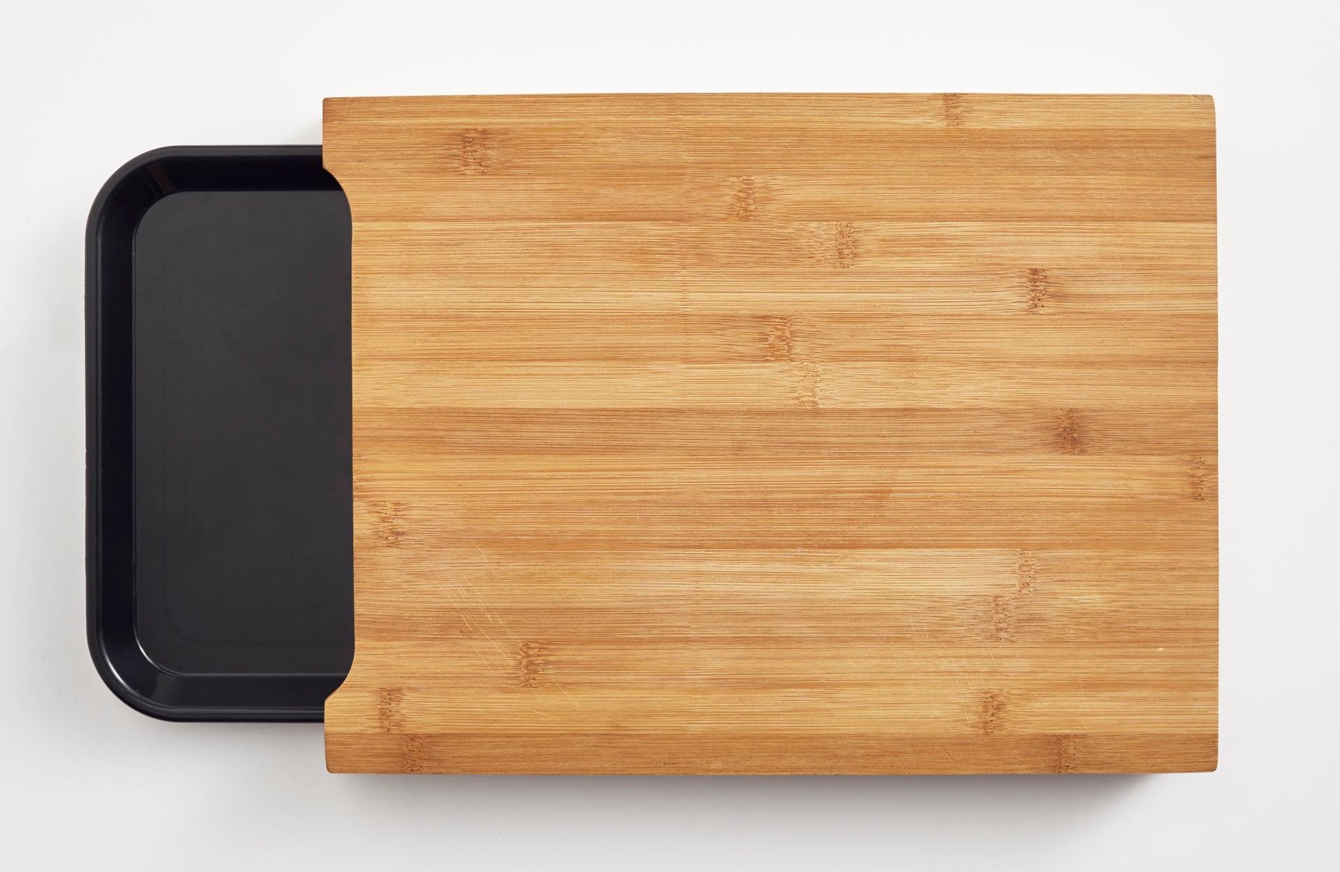 Planche à découper en bambou noir l.32 x H.24 cm