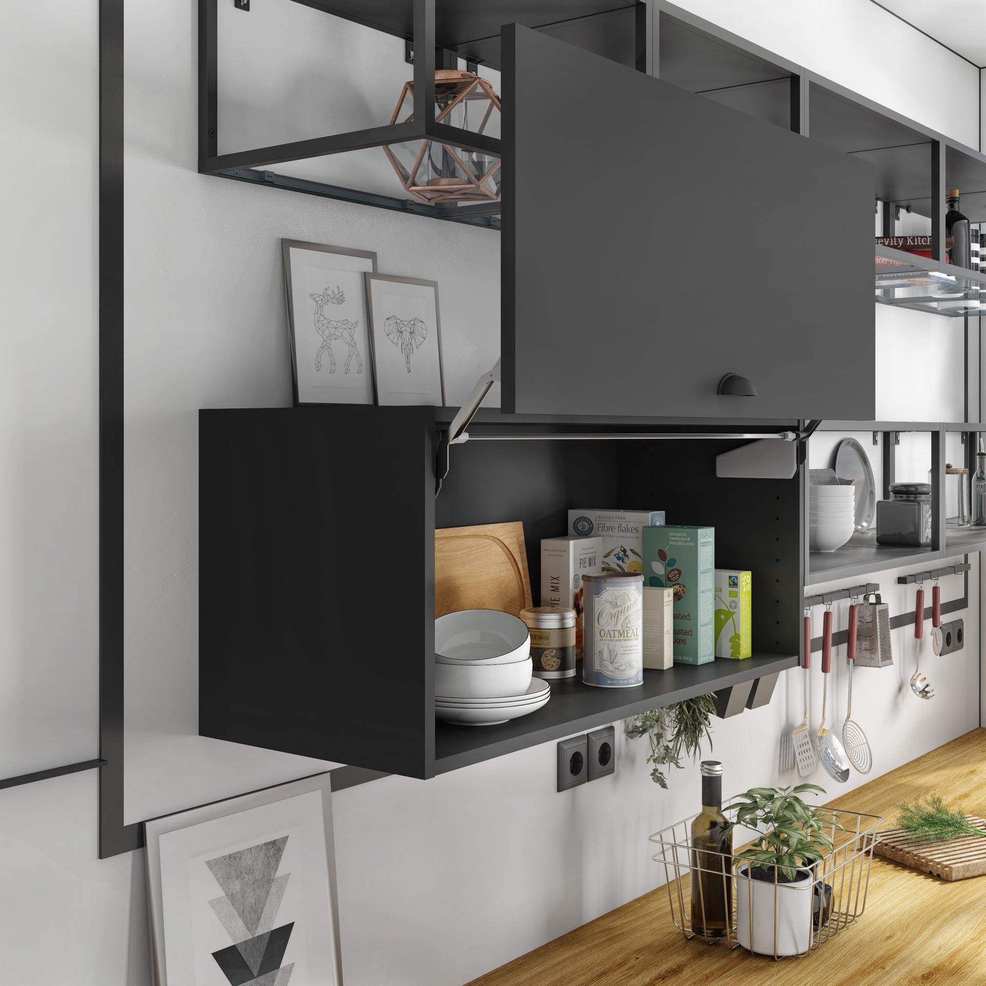 Lot de 10 Relevables ouverture parallèle pour porte de 10,10 à 10 kg meuble de  10cm