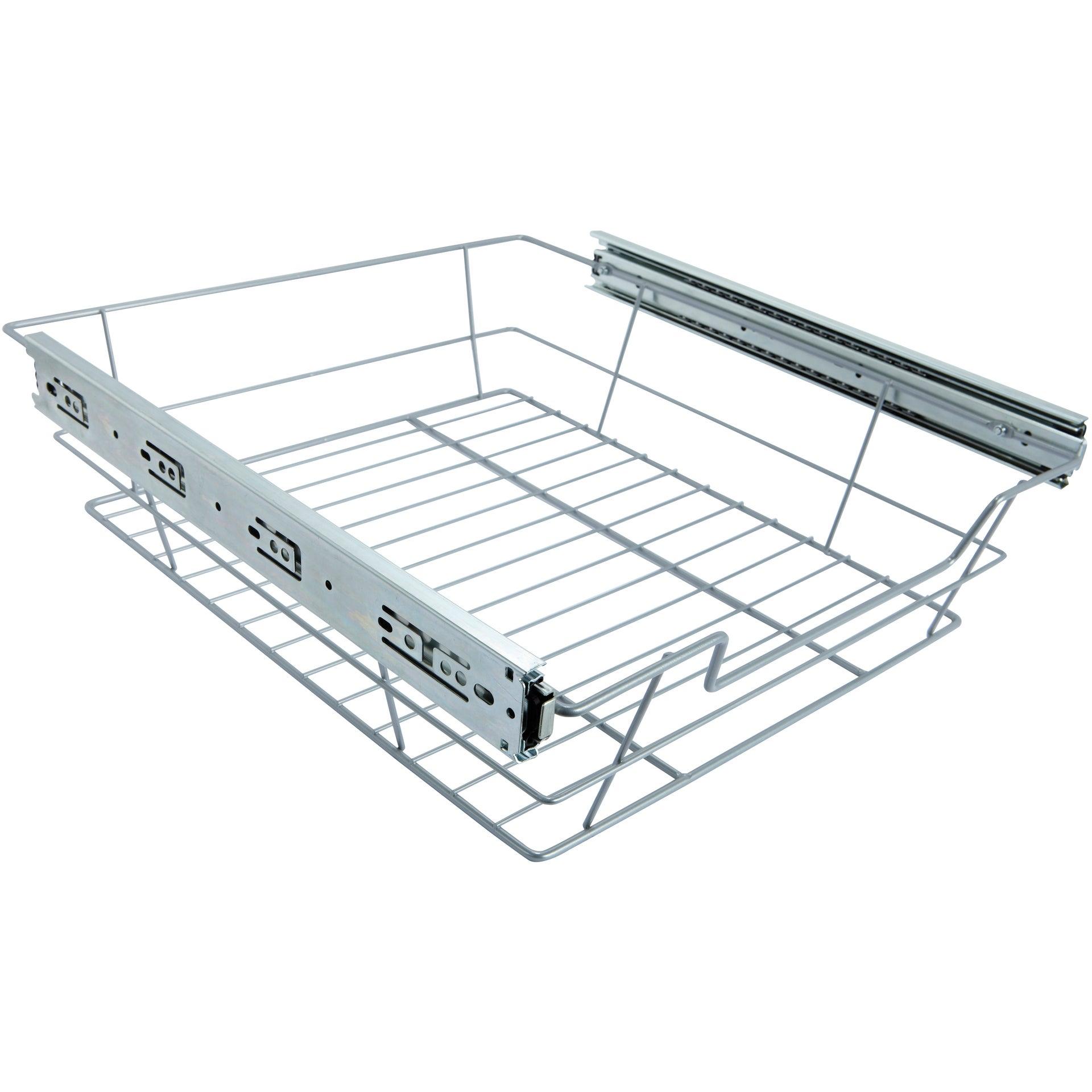 Panier coulissant 1 niveau pour meuble ou colonne l.50 cm | Leroy Merlin