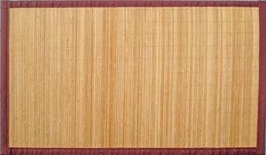 Tapis Naturel Rectangulaire L140 X L200 Cm Bambou