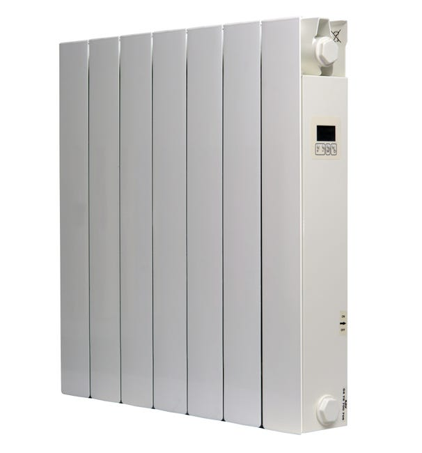Radiateur Electrique Inertie Seche 1500w Univ R Chauffage Caraibes Blanc Leroy Merlin