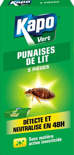Lot De 5 Pieges Insecticide Pour Punaises De Lit Kapo Leroy Merlin