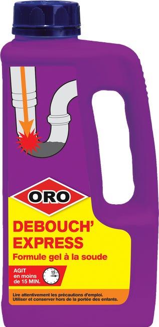 Deboucheur Soude En Gel Industriel Vasque Evier Et Baignoire Oro Deboucheur Gel Leroy Merlin