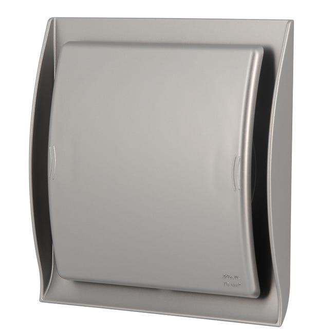 Grille Ventilation A Fermeture Neolia Inox D 12 5 Cm Fdt125x Nicoll Leroy Merlin