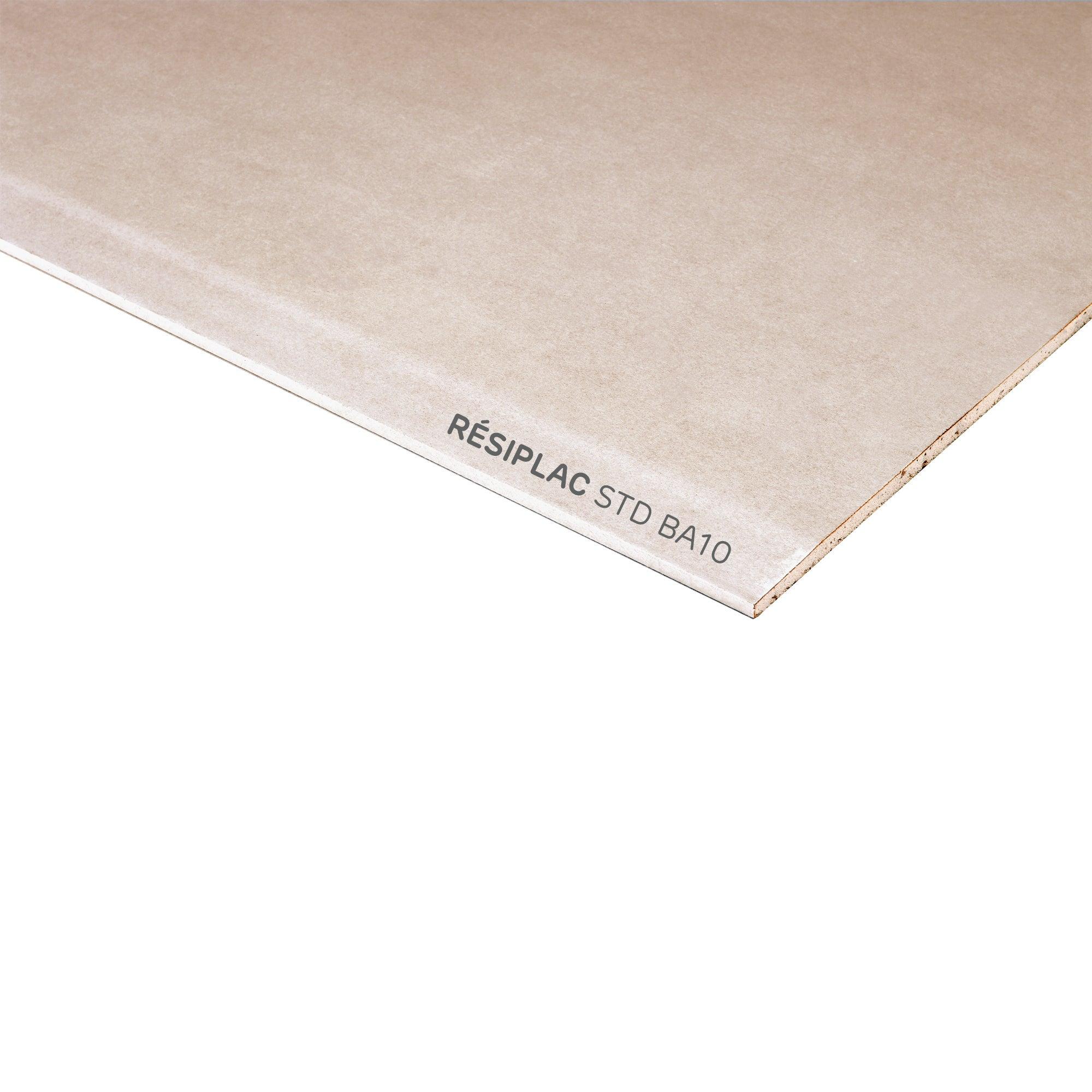 Plaque coup/é de PE rigide 1000 x 495 x 10 mm noir Poly/éthyl/éne
