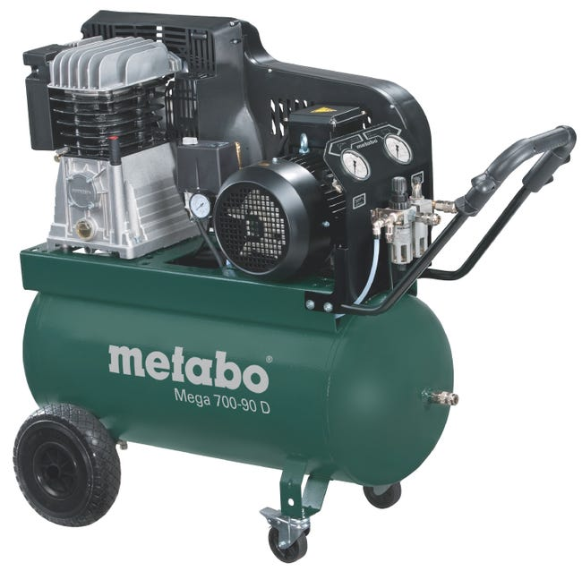 Compresseur De Chantier Metabo 90 L Mega 700 90 D Leroy Merlin