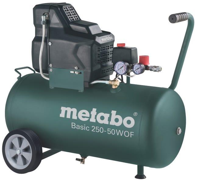 Compresseur De Chantier Metabo 50 L 2 Cv Basic 250 50 W Of Leroy Merlin