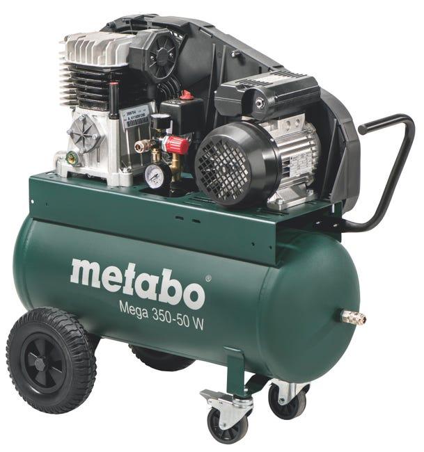 Compresseur De Chantier Metabo 50 L Mega 350 50 Leroy Merlin
