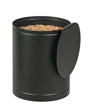 Image : Réservoir à granulés noir givré DIXNEUF Batiss l.32 x H.39.5 cm