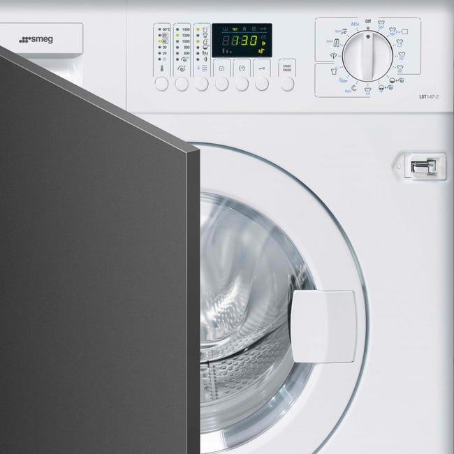Lave Linge Encastrable Smeg 7 Kg Lst147 2 Blanc Leroy Merlin