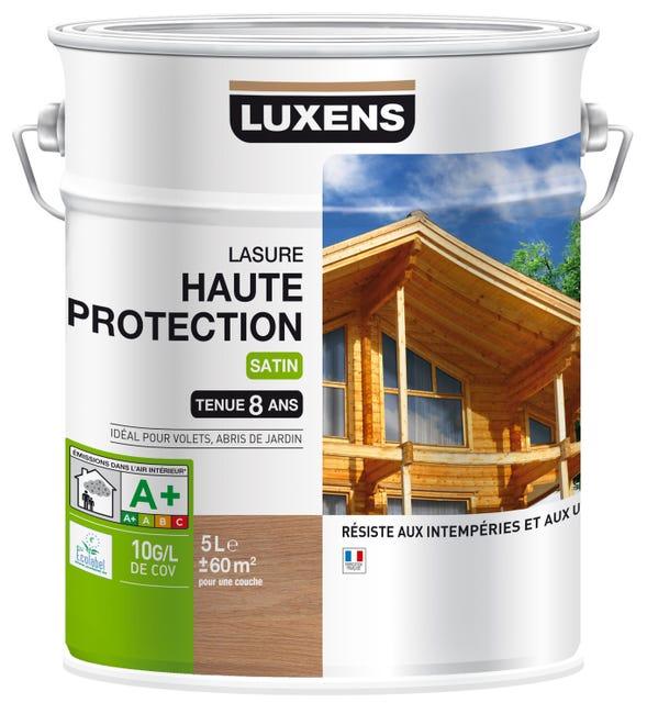Lasure Luxens Haute Protection 8 Ans Chene Clair Satine 5 L