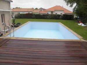 Piscine Tubulaire Terrasse Bois piscine | leroy merlin