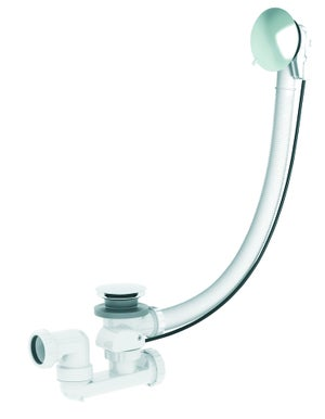 Vidage pour baignoire avec volant vidage baignoire automatique à câble, clapet r
