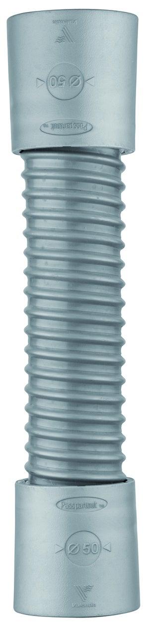 Flexible De Raccordement Pvc Male Longueur 26 Cm D 40 Mm Valentin Leroy Merlin