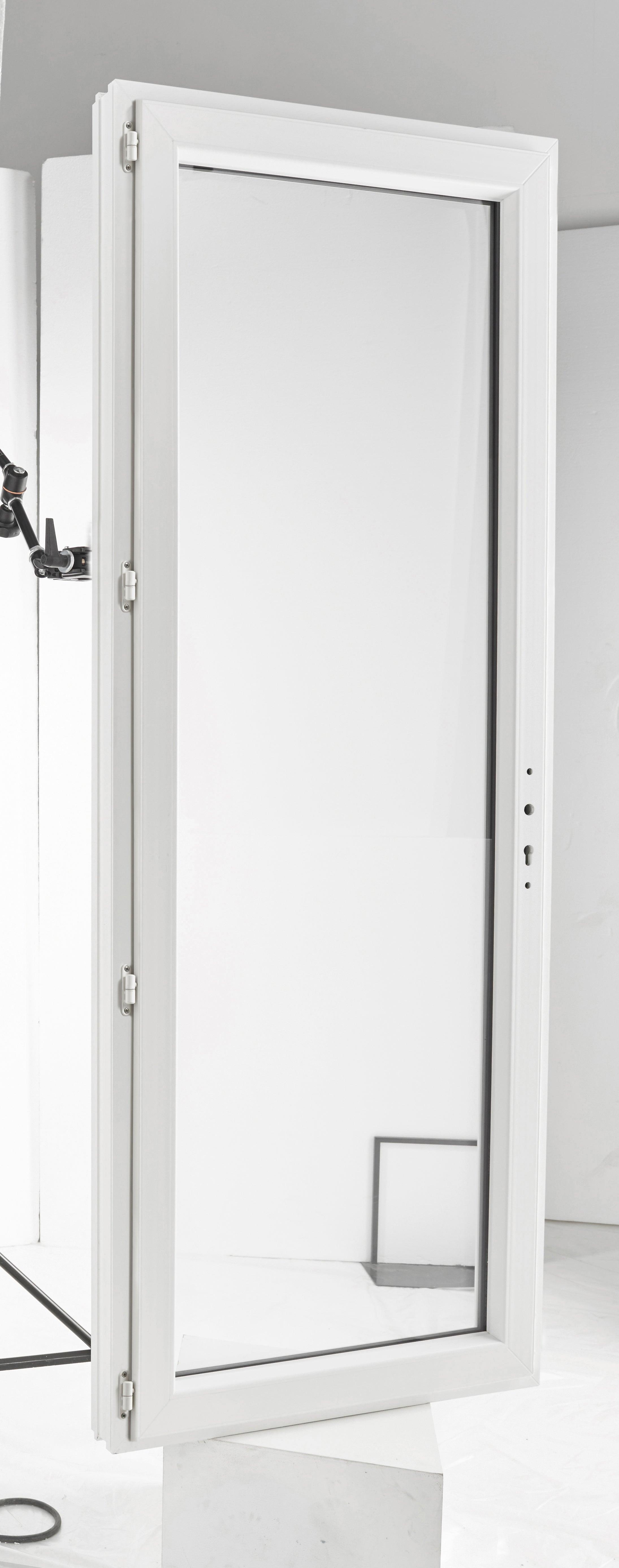 Porte Fenetre Pvc Brico Essentiel Blanc H 215 X L 90 Cm 1 Vantail Tirant Gauche Leroy Merlin