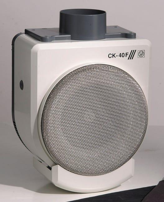 Aerateur Intermittent A Interrupteur S P Ck40 Filtre 100 Mm Leroy Merlin