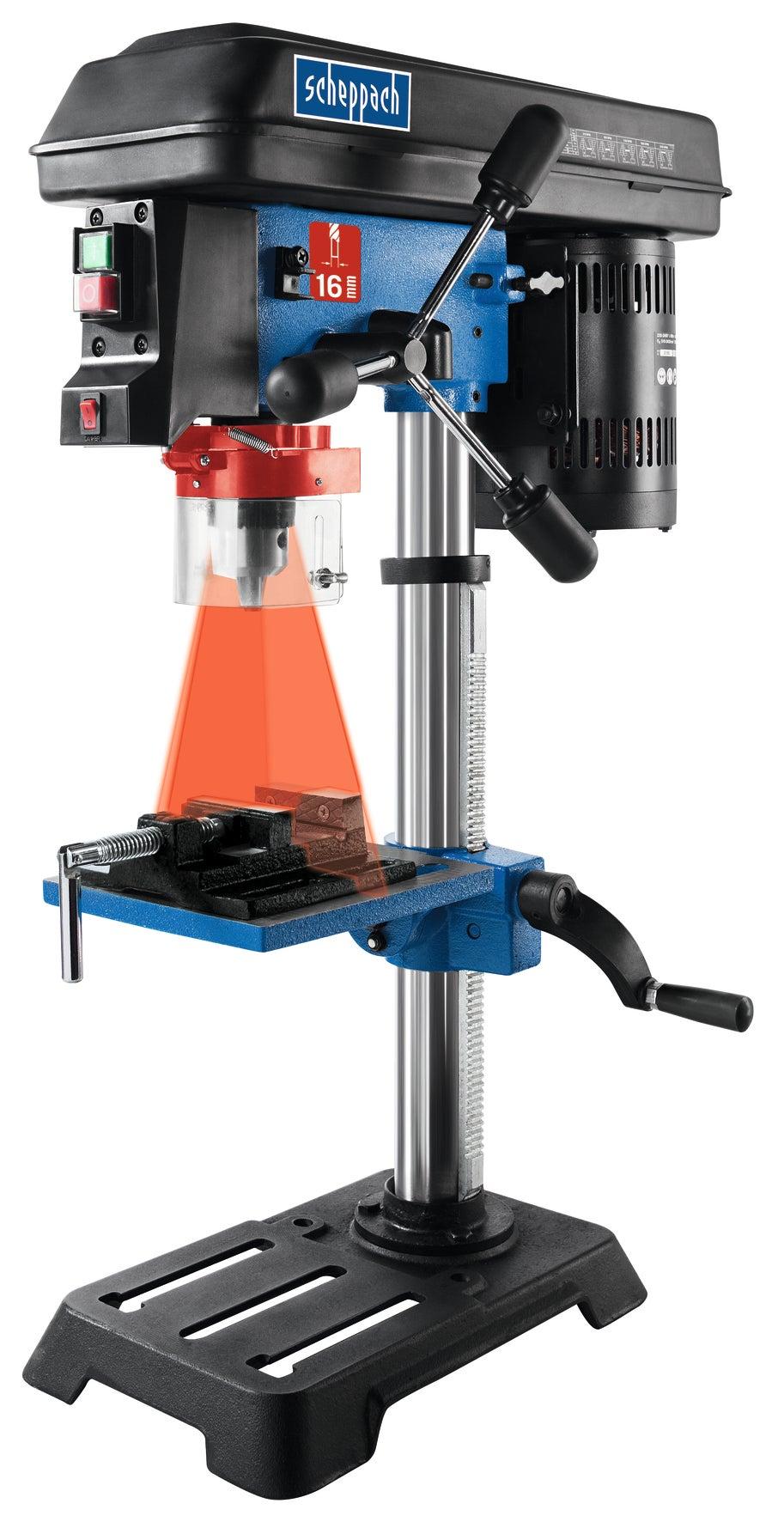 Scheppach table Perceuse dp50 avec écran digital /& Laser piliers Perceuse