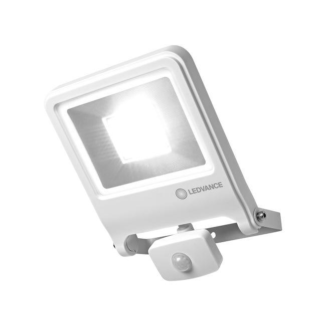 Projecteur A Detection Exterieur Led 4000 Lm Blanc Sensor Endura Flood Ledvance Leroy Merlin