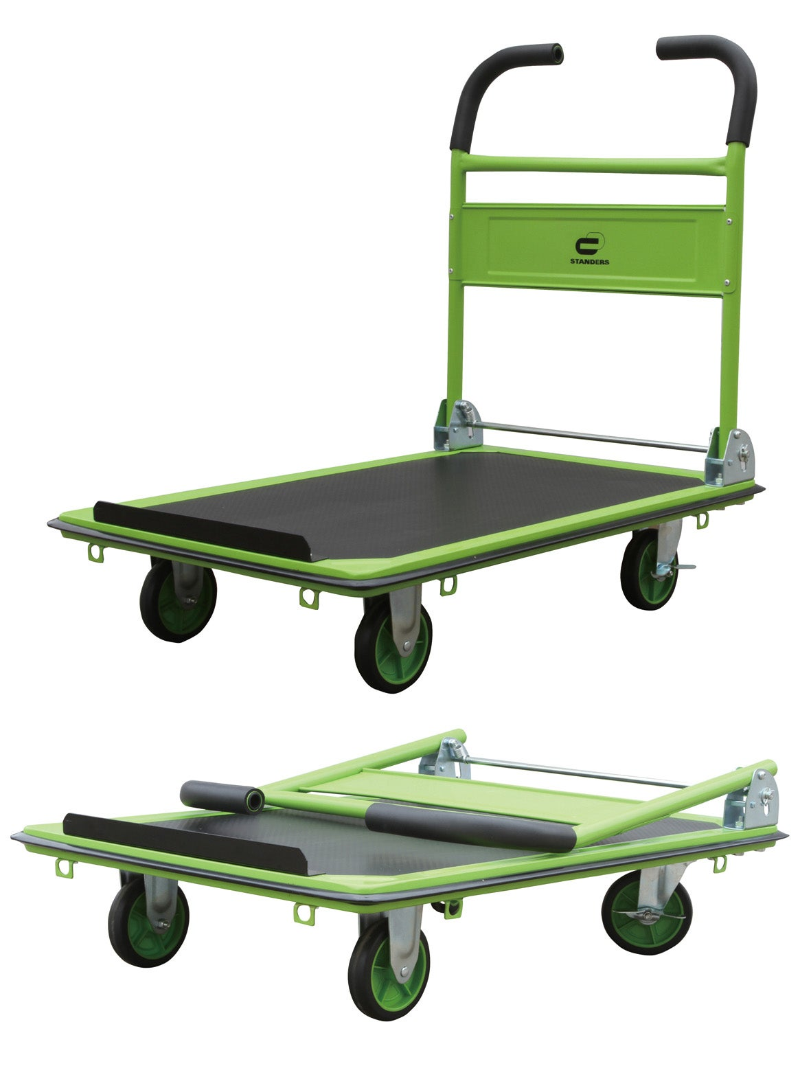 Chariot pliable STANDERS, charge garantie 300 kg