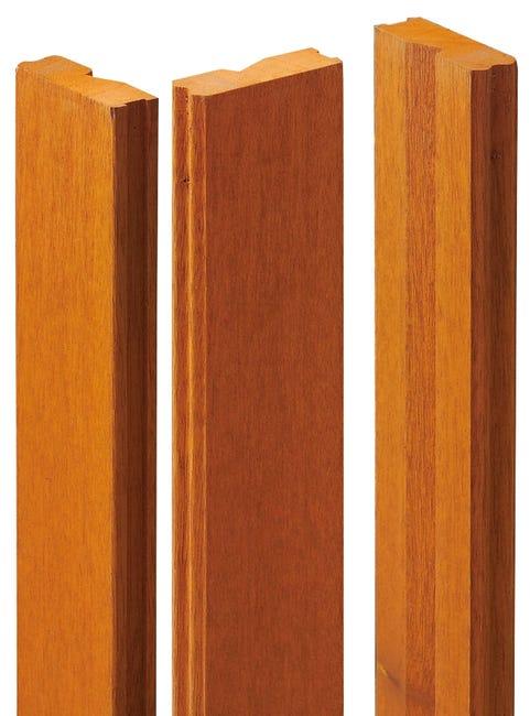 Tapee D Isolation De 140 Pour Porte D Entree H 215 X L 90 Cm Bois Exotique Leroy Merlin
