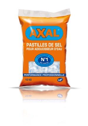 Sel pour adoucisseur 10 kg AXAL | Leroy Merlin