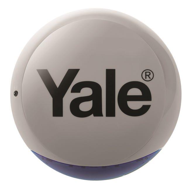 Sirene Exterieure Flash Pour Alarme Sync Yale Leroy Merlin