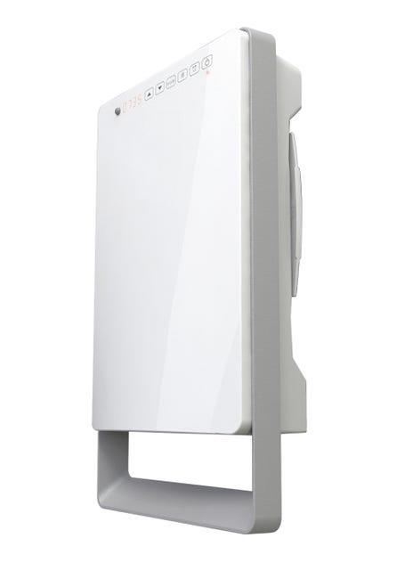 Radiateur Soufflant Salle De Bain Fixe Electrique Aurora Touch 1800 W Leroy Merlin