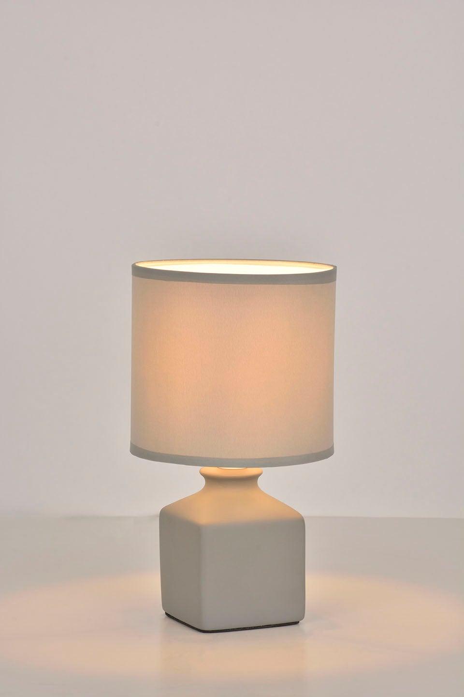 Lampe charme céramique gris, COREP Ida