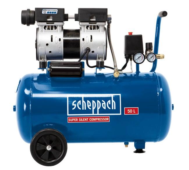 Compresseur Scheppach 50 L Hc50si 230 V Leroy Merlin