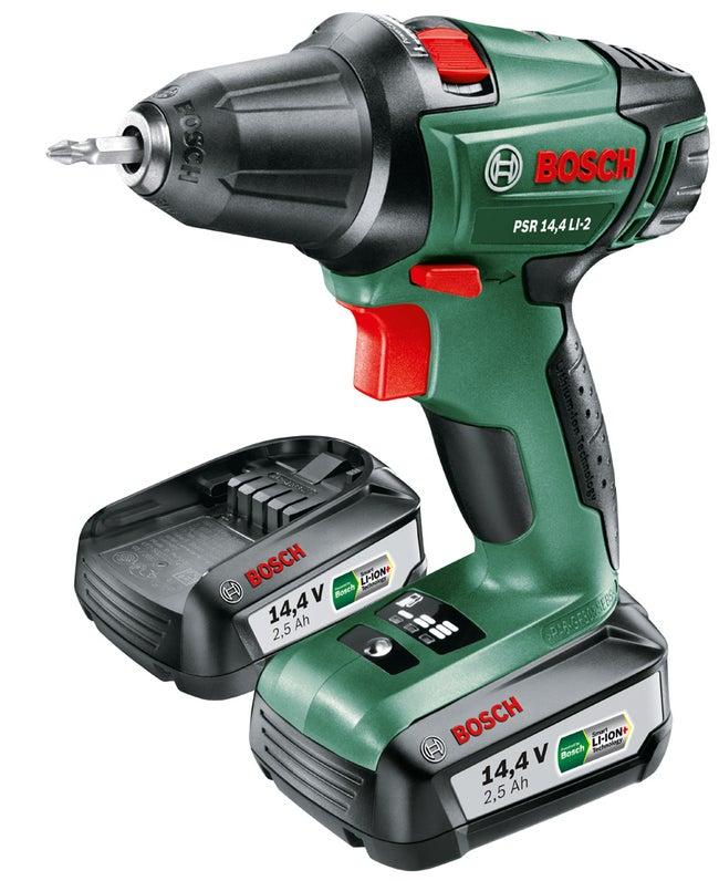 Perceuse Visseuse Sans Fil Bosch 144 V 25 Ah 2 Batteries