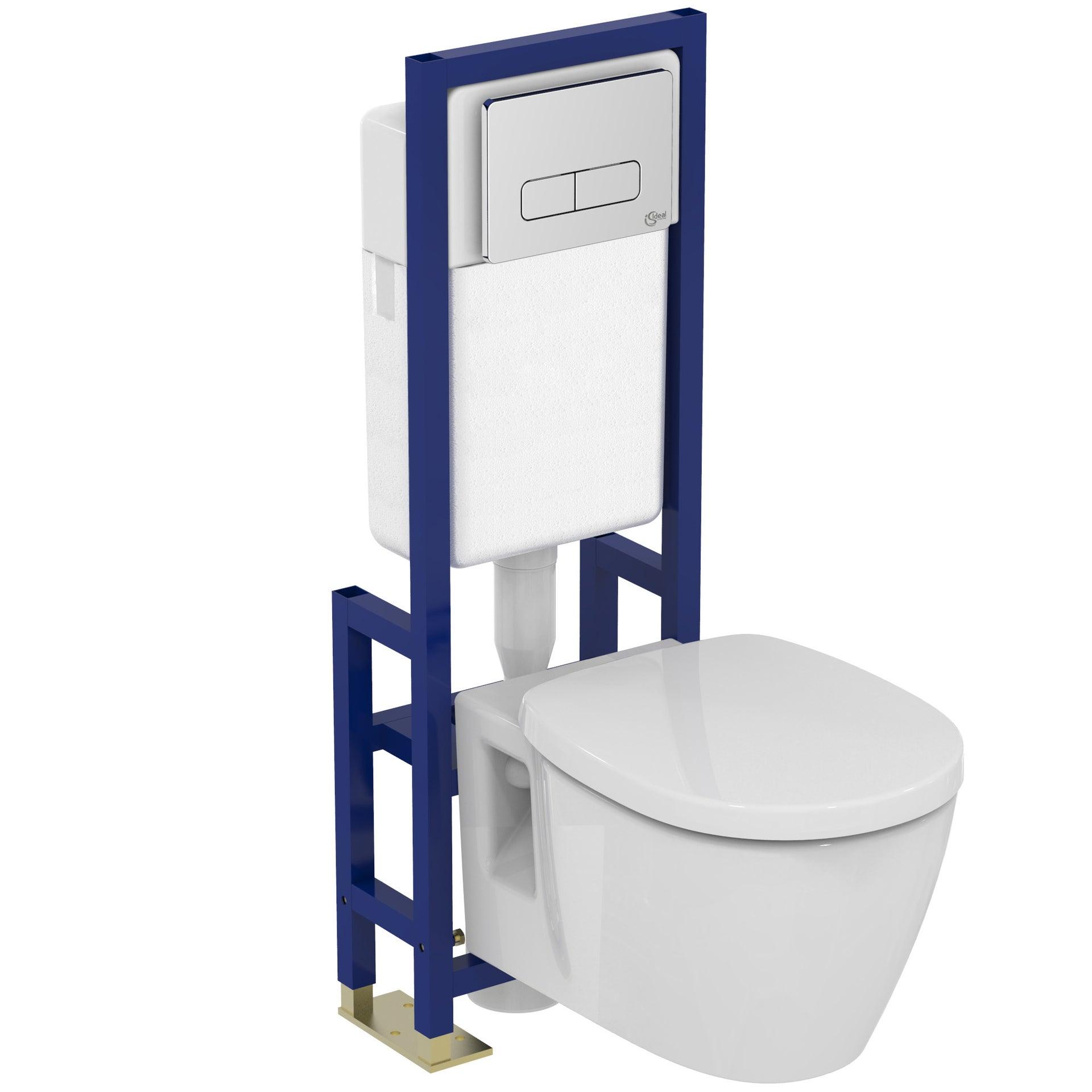 pack wc suspendu bâti universel ideal standard idealsoft