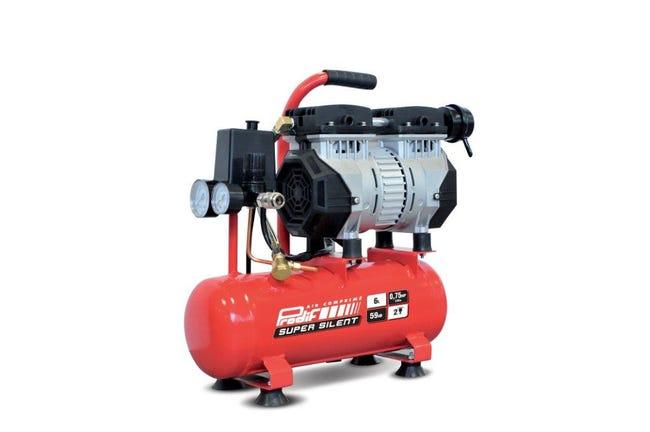 Compresseur D Atelier Prodif 6 L 0 5 Cv 6l Silencieux Sil06j Leroy Merlin