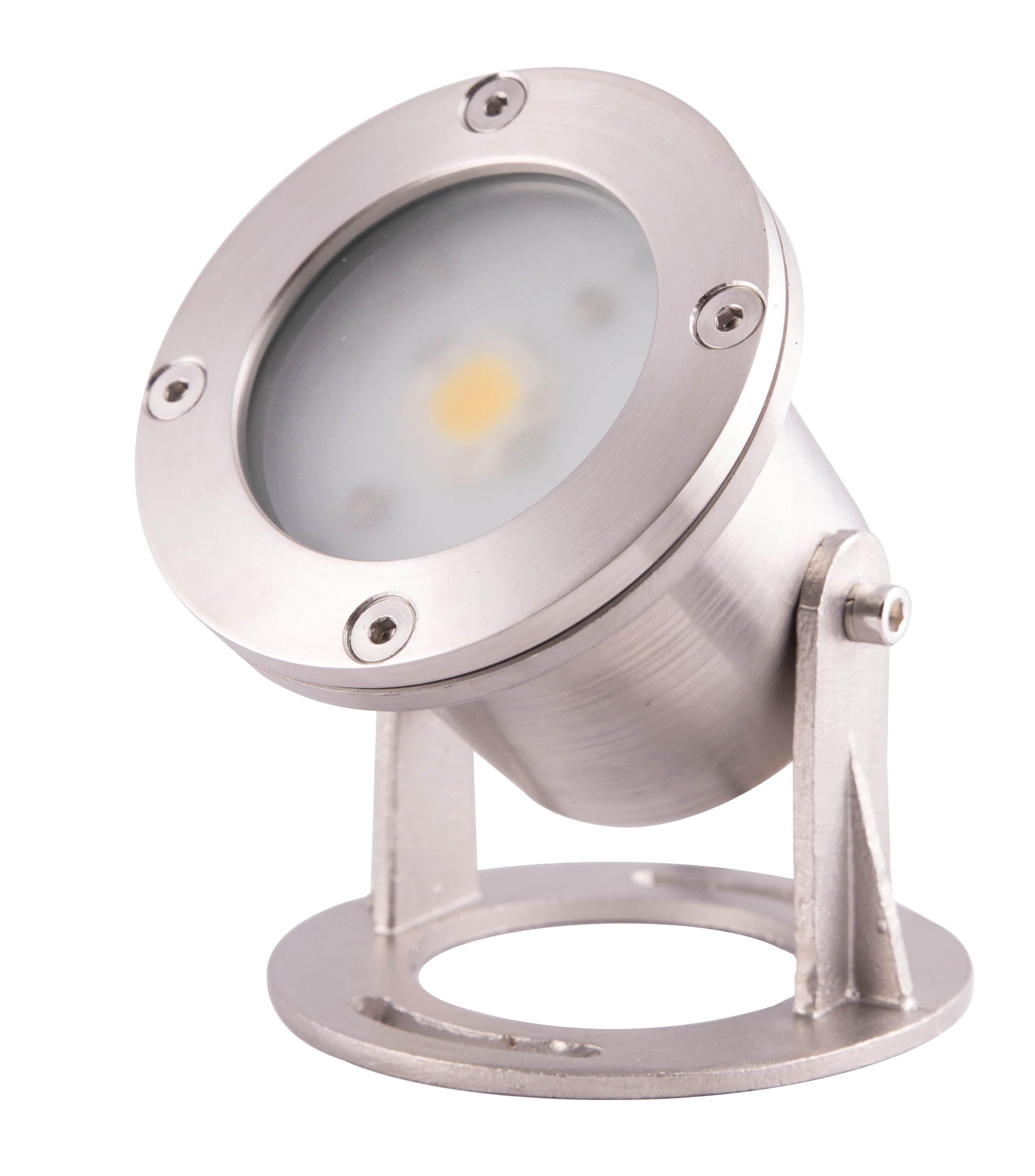 Spot A Encastrer Exterieur Immergeable Led Integree 550 Lumens 9 2 Cm Lumihome Leroy Merlin
