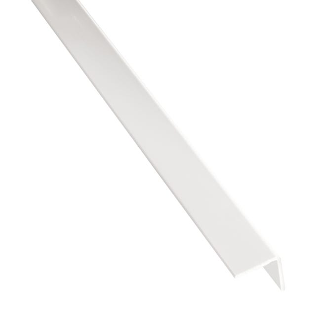 Corniere Adhesive Pvc Mat Blanc L 2 6 M X L 1 6 Cm X H 1 6 Cm Leroy Merlin