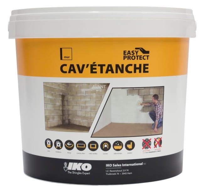 Enduit Ciment Pour Cave Iko 5 Kg Blanc Leroy Merlin