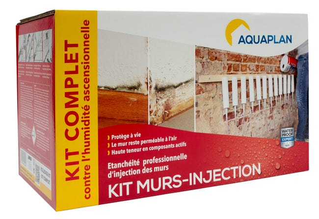 Kit Antihumidite Iko Wall Injector 5 L Incolore Leroy Merlin