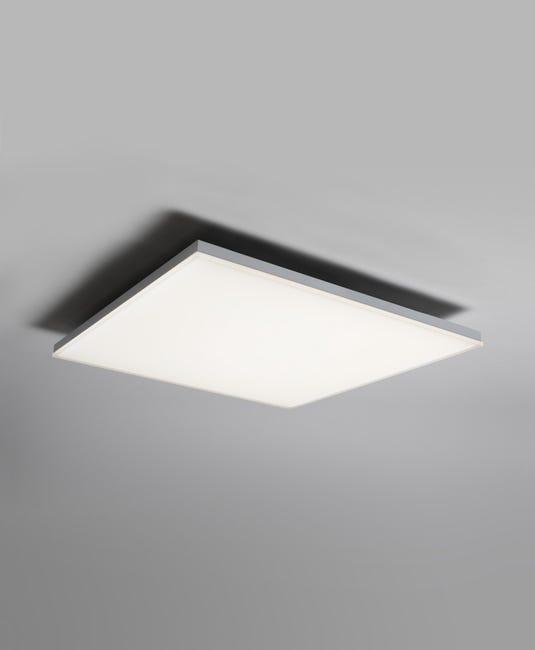 Plafonnier Design Metal Blanc Led Integree Ledvance Planon Frameless Leroy Merlin