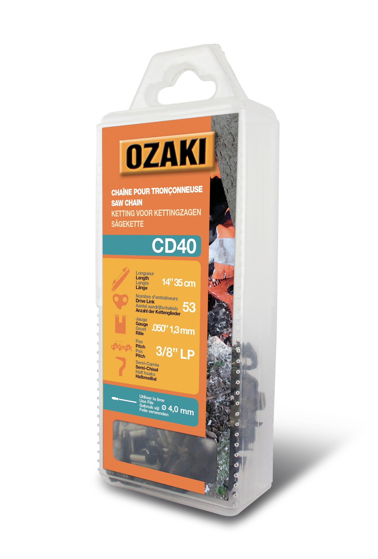 CHAINE DE TRONCONNEUSE OZAKI 3//8.LP 1.1 35 ENTRAINEURS